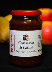 Conserva di susine Senza Zucchero - Il granaio di Gabriello