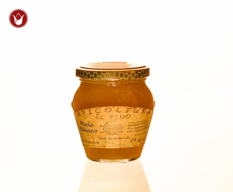 miele di trifoglio 250gr Apicoltura il Pino
