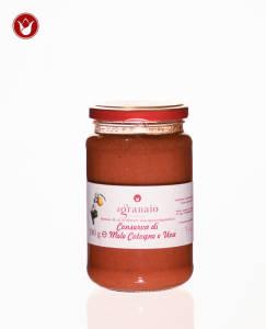 Conserva di mele cotogne e uva Il granaio di Gabriello