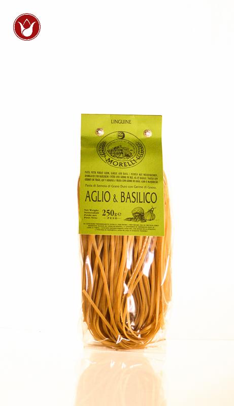 linguine aglio e basilico Pastificio Morelli