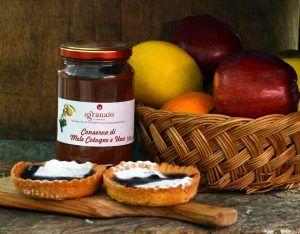 conserva di mele-cotogne e uva
