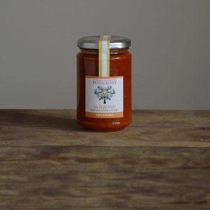 salsa aromatizzata all'aglio