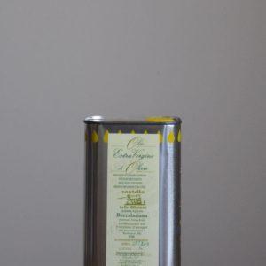 olio-extravergine di oliva in latta