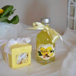 Limoncino con scatolina di confetti