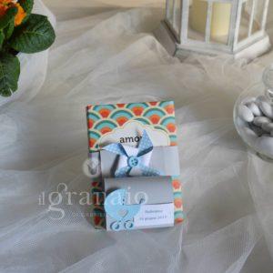 Cioccolato Vestri con scatolina di confetti
