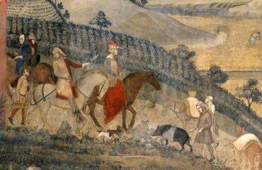 Lorenzetti affresco cinta senese