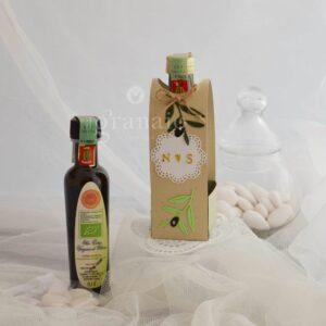 Olio evo Bio con scatolina di confetti
